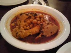 Morrocan chicken stew